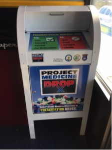 Seaside Heights Police Department Project Medicine Drop Box